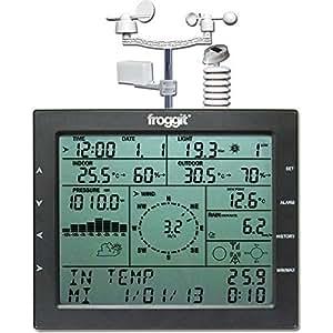 Estación meteorológica Profesional Froggit WH4000 / UV / Solar / LUX / Lluvia / Viento