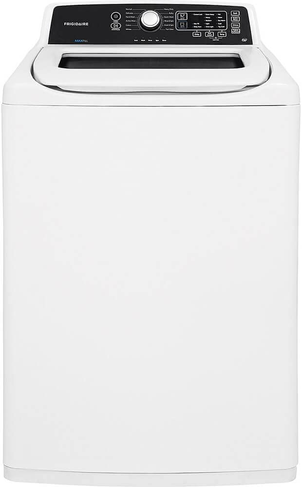 Top Load Washer, White, 44-1/4