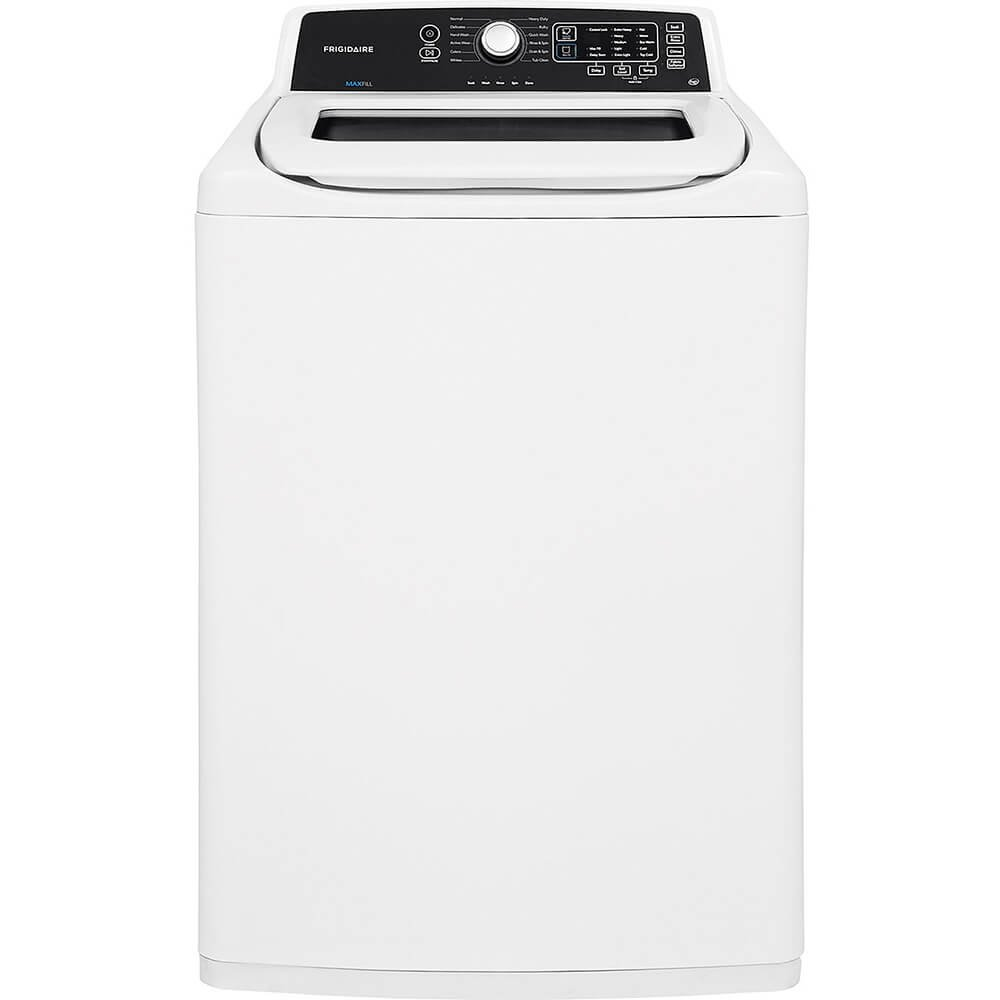 "Top Load Washer, White, 44-1/4"" H"
