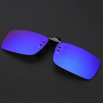 Gafas de Sol Aleación De Titanio Gafas De Sol Reflectantes ...