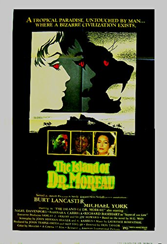 Island of Dr. Moreau Movie Poster