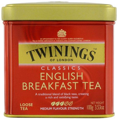 English Breakfast Loose Leaf Tea (Twinings English Breakfast Tea, Loose Tea, 3.53 Ounce)