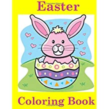 Easter Coloring Book For Kids Ages 4 8 Books