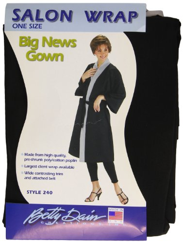 Betty Dain Big News Client Wrap, Black