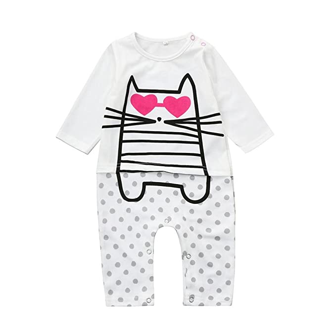 Milch Brief Neugeborenen Kinder Baby Junge Mädchen Langarm Kleidung Romper Overall Outfits Babykleidung Jungen