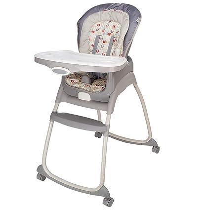 Trona para bebés con bandeja regulable Altura ajustable Bebé ...