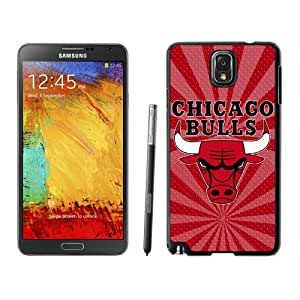Fashionable Antiskid Cover Case For Samsung Galaxy Note 3 N900A N900V N900P N900T With Chicago bulls 3 Black Phone Case