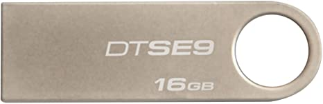Kingston 16 GB USB Pen Drive  Metallic Silver