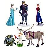 Disney Exclusive Frozen Figurine 6 piece Play Set