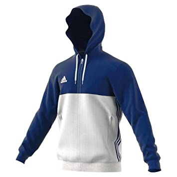 Adidas T16 Team Hoodie Männer AJ5410, Navy Blau Weiß: Amazon
