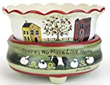 OBI Wax Melts Warmer Candle Warmers for Scents Candles Scented Cubes Sunflower & Red Barn 2in1 Electric Warm Heater - Licensed Artwork Design Melt Bowl Flameless Plugin ... (Farm House)