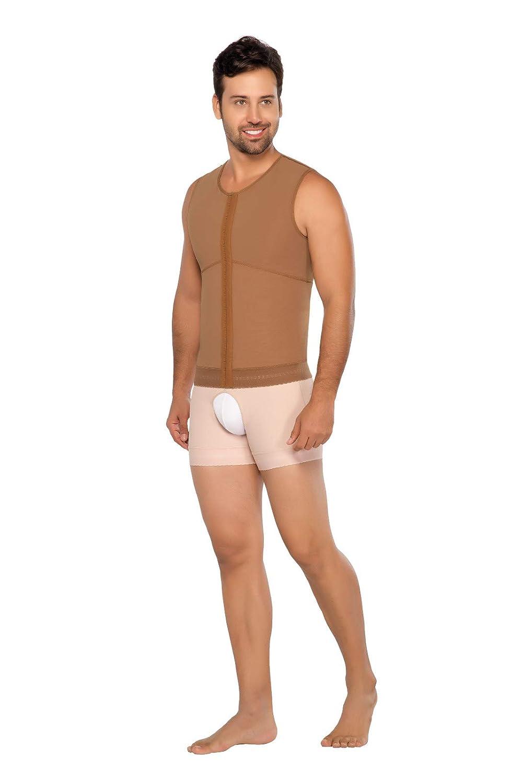 03bd3bfd70794 Post Op Shapewear Vest Men Fajas Colombianas Equilibrium para Hombre 2  Hooks Ref 9006  Amazon.ca  Clothing   Accessories