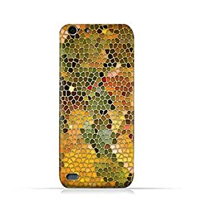 Infinix Hot 3 X554 TPU Silicone Protective Case with Stained Glass Art Design