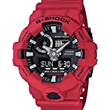Casio G-Shock Herrenuhr Analog/Digital Quarz mit Resinarmband – GA-700