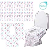 Disposable Toilet Seat Covers, Perfect Ideal for Adults, The Pregnant and Kids Potty