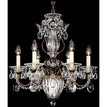 Schonbek 1829 40 swarovski lighting century chandelier silver schonbek 1246 76 swarovski lighting bagatelle chandelier heirloom bronze aloadofball Image collections