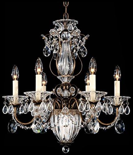 Schonbek chandelier for sale only 3 left at 75 schonbek 1246 76 swarovski lighting bagatelle chandelier for sale delivered anywhere in usa aloadofball Images