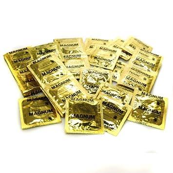 Magnum gold condom