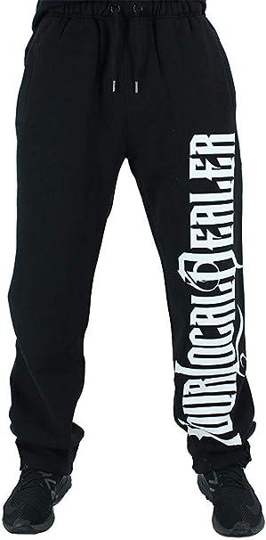 YLD - Pantalón Deportivo - para Hombre Negro Negro (M: Amazon ...