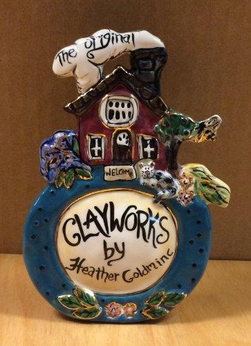 Blue Sky Clayworks The Original Clayworks Welcome Sign #319120