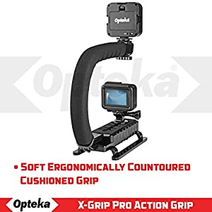 Opteka X-GRIP VL-MOD Professional Stabilizing Handle for GoPro Action Cameras (Black)