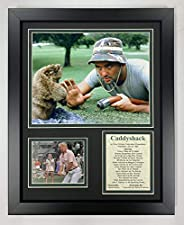 """Caddyshack- Renowned Comedy Golf Movie Collectible   Framed Photo Collage Wall Art Decor - 12""""x15""""  """