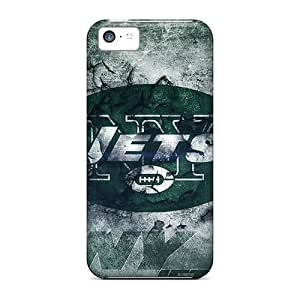 Iphone 5c EQJ18386NEXX Customized Lifelike New York Jets Pictures Bumper Hard Cell-phone Case -RudyPugh