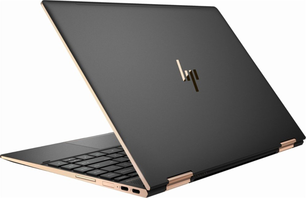 "HP Spectre x360 13t Touch Laptop i7-8550U Quad Core,16GB RAM,512GB SSD,13.3"" IPS FHD Touch, Gorilla Glass, Win 10 Pro Pre-Installed by HP, Dark Ash Silver, 3 YRS McAfee Internet Security Antivirus"