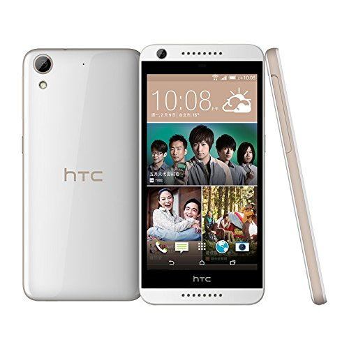 HTC Desire 626 (D626x) LTE Factory Unlocked International Stock No Warranty (16GB   White Birch) - International Version No Warranty