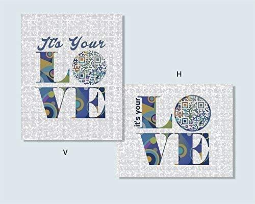 Amazon Com It S Your Love Tim Mcgraw Inspired Qr Code Song Art