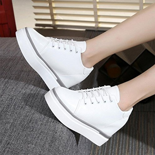 scarpe ascensore Ms. primavera focaccina fondo pesante scarpe scarpe casual per aiutare le scarpe basse scarpe da donna , US5.5 / EU35 / UK3.5 / CN35