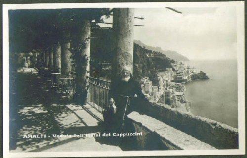 Hotel dei Cappuccini Amalfi Italy RPPC postcard 1920s