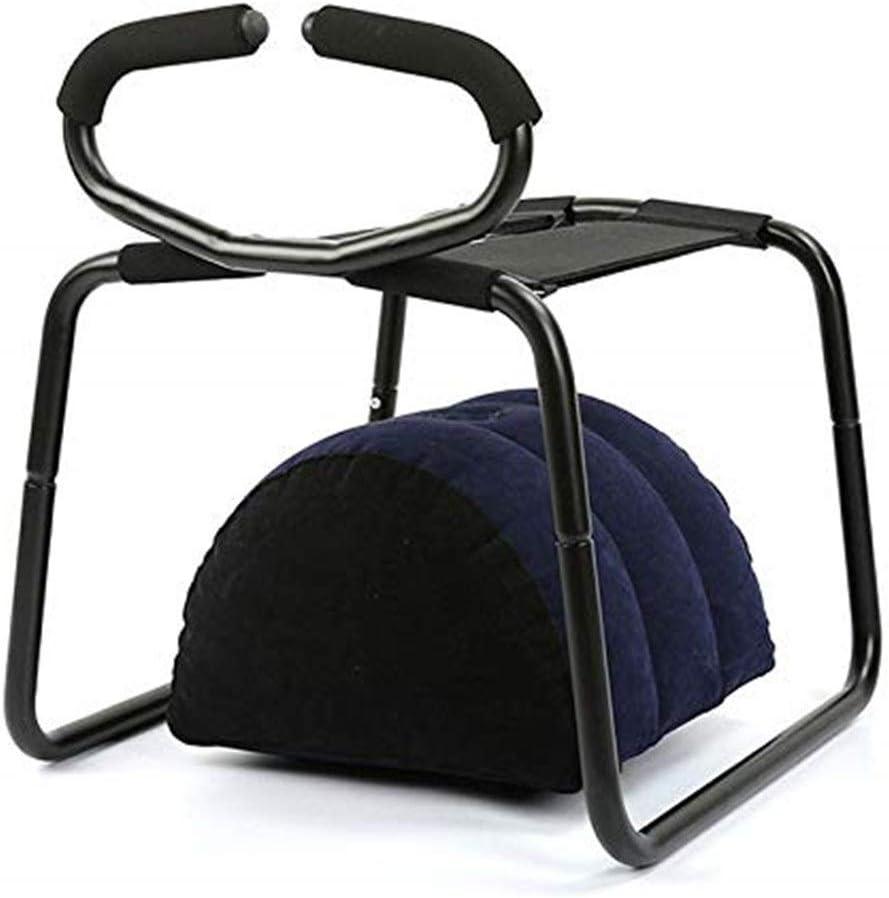 男性用Tシャツ安全アームレストとインフレータブル枕付きの多機能Séxチェア