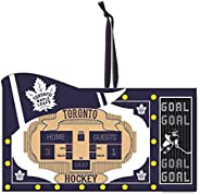 Team Sports America Toronto Maple Leafs Scoreboard Ornament