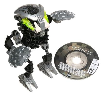 Amazon.com: Lego Bionicle Bohrok-Kal Nuhvok-Kal (BLACK) #8573: Toys ...
