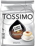 Tassimo Carte Noire - Cappuccino, bolsa de 16 cápsulas (8 cápsulas con el café + 8 cápsulas con leche)