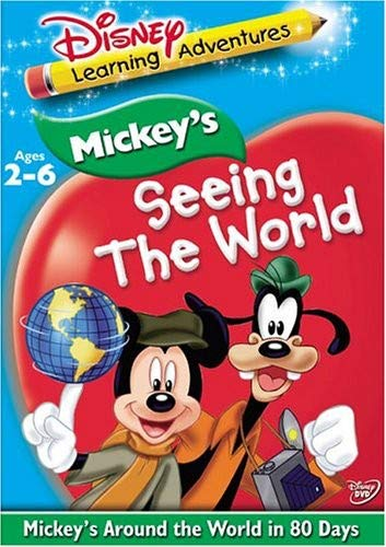 Disney's Learning Adventures - Mickey's Seeing the World - Mickey's Around the World in 80 Days (Mickey Around The World In 80 Days)