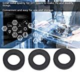12pcs Flat Rubber Washers, Rubber O-Ring Seals