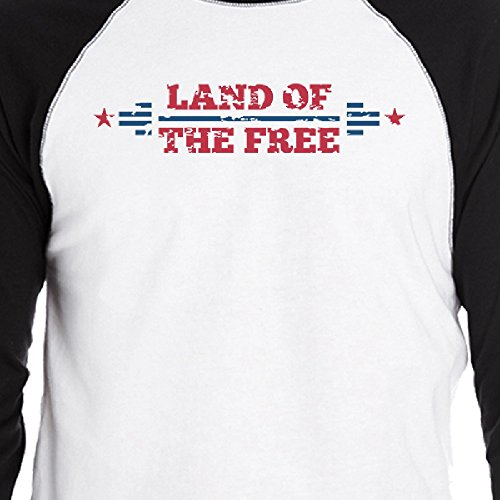 Camiseta Printing 365 Of The hombre Land corta para Free Size One manga de wATaC5qT