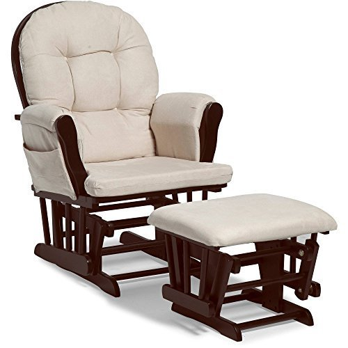 NEW Harbour Glider Rocker and Ottoman Set by Baby Relax