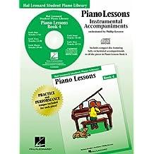 Piano Lessons Book 4 - CD: Hal Leonard Student Piano Library