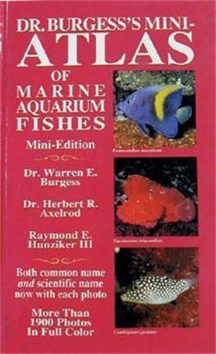 Dr. Burgess' Mini Marine Atlas by W. E. Burgess (1997-02-05)