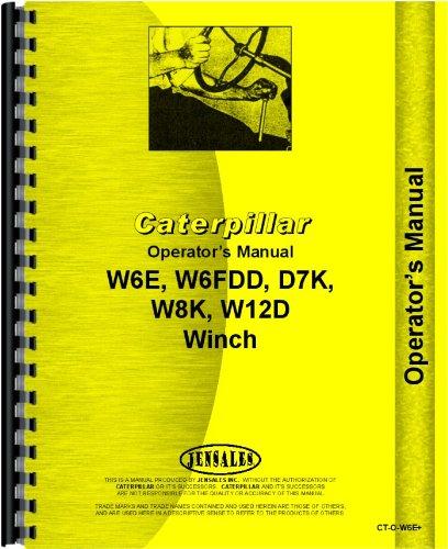 Download Caterpillar W8K Hyster Winch Attachment Operators Manual pdf