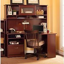 Cabot Collection Corner Desk, Hutch