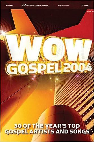 Book WOW Gospel 2004