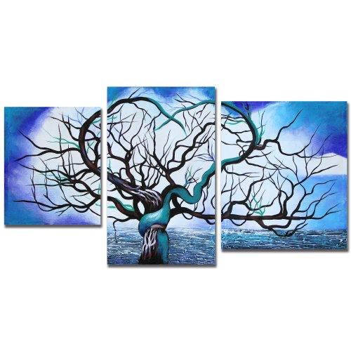 Art Wall John Black's 'Origin of Life Tree' 3-Piece Gallery Wrapped Canvas Set