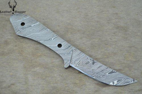 Leather-n-Dagger Huge Sale By Professional Custom Handmade Damascus Steel Scandinavian Blank Blade for Knife Making Supplies Ldb33