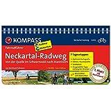 Neckartal-Radweg, von der Quelle im Schwarzwald nach Mannheim: Fahrradführer mit Routenkarten im optimalen Maßstab. (KOMPASS-Fahrradführer, Band 6282)