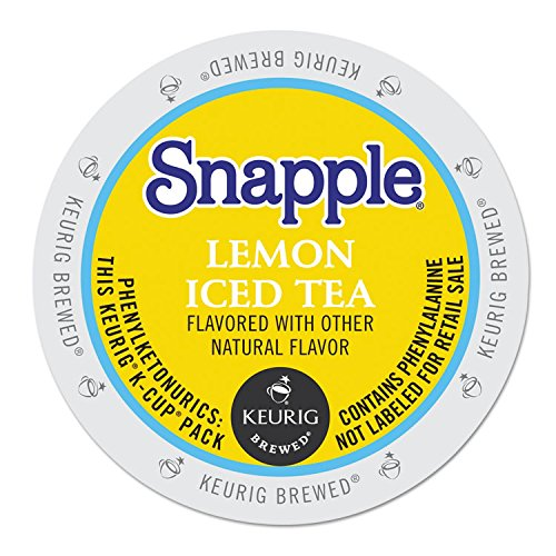 (Snapple Lemon Tea K-cups, 22-count)