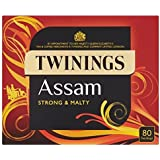 Twinings Assam Strong and Mighty 80 Tea Bags